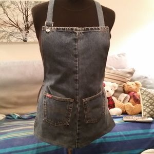 Handmade apron fromRalph Polo Jeans. Men or Women